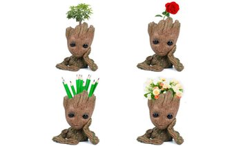 Guardians Of The Galaxy Vol. 2 Baby Groot Flowerpot Pen Pot Figure