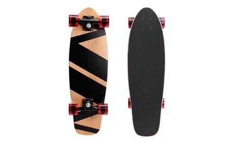"27""Cruiser Skateboard Complete 9 layer Canadian Maple Wood Skate Board f716e6b0-6c21-411c-9634-99979fedf3de"