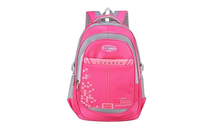 Voogo Kids Girls Ergonomics Book Bags Elementary School Backpacks