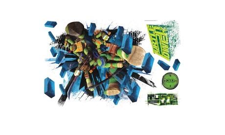 Roommates Teenage Mutant Ninja Turtles Brick Poster Giant Wall Decal c92c52a2-eef9-42a6-9a01-39b5c1d499b4