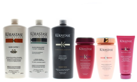 Kerastase Hair Care Products. Shampoo or Conditioner.