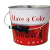 Vintage Coke Beverage Bucket