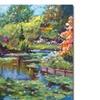 David Lloyd Glover Serenity Pond Canvas Print