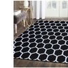 Superior Hand Tufted Honeycomb Wool Area Rug (5'x8')