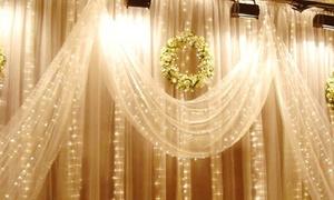 10ft. 300-LED Multi-Mode Curtain Lights