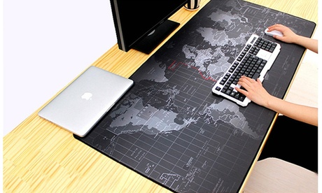 Old World Map Full Desk Coverage Gaming and Office Mousepad
