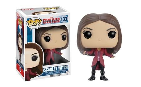 Funko Pop Marvel Civil War Captain America Scarlet Witch Vinyl a3b191d3-8f7a-455b-a317-0cbaebef7028