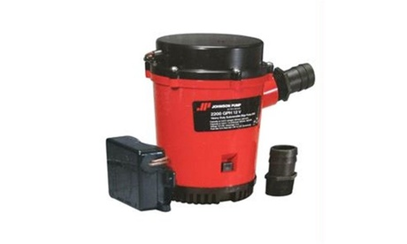 Johnson Pump 2200GPH Ultima Combo Auto Bilge Pump - 12V photo