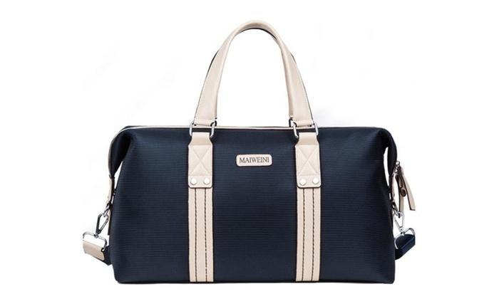 Men Canvas Briefcase Messenger Bag Laptop Bag