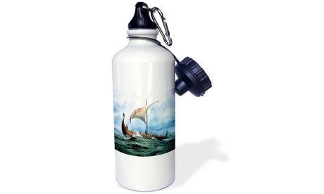 Water Bottle - Viking Ship. jpg - 21oz photo