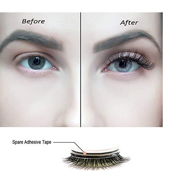 18c4d565340 Up To 55% Off on 3D Self Adhesive Eyelashes No... | Groupon Goods