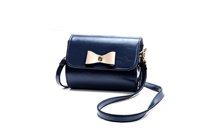 Womens Mini Boom Bow Shoulder Messenger Bag - F / one size