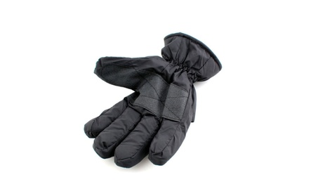Waterproof Black Color Gloves for Winter Sports f82074bd-6112-4037-9edc-a443539d1ac1