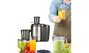 110V 600ML Capacity Stainless Steel Fruit Vegetable Blender Electric Juicer