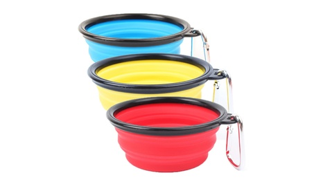 Collapsible Dog Bowl and Travel Bowl For Dog Silicone Pet Bowl(3 Pack) dac0afc5-8c1a-48ab-bd53-bd29c64490ce