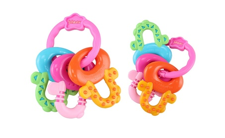 Baby Teethers Dental Care Silicone Key Shape Baby Toy Silicone Teether 9dccb588-529d-4872-8629-2145ef38762d