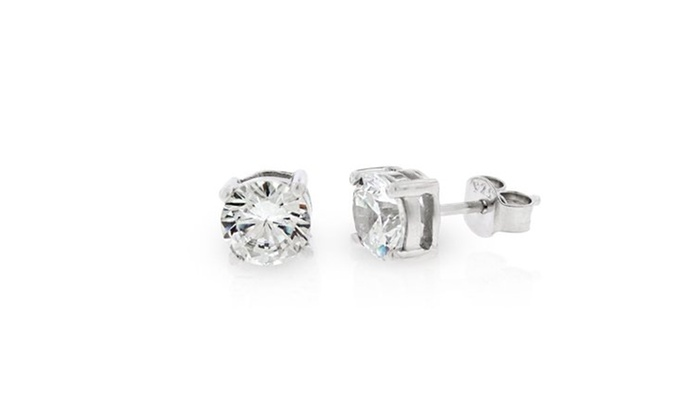 272275812 Up To 31% Off on 925 Sterling Silver 6mm Round... | Groupon Goods