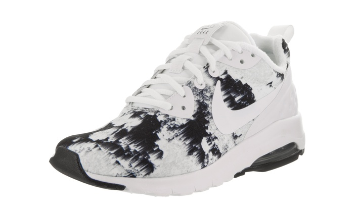 new concept 56687 a5c92 Nike Women s Air Max Motion LW Print Running Shoe Medium 5.5 Women US  White White Black