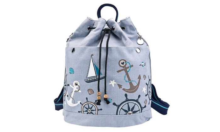 Fashionable Canvas Backpack