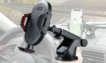 360 Rotation Car Phone Mount,Strong Sticky Suction For 3.5