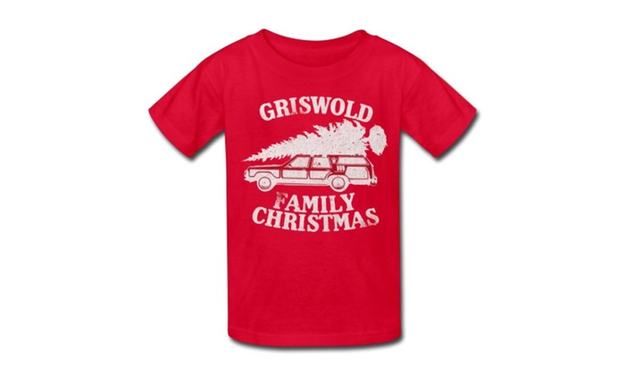 christmas vacation griswold family christmas youth t shirt