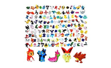 Pokemon Mini Action Figures Model 100 Pcs Set Pokemon Monster Toys 4461bbf1-89a9-41ad-a890-90b84aea6108