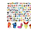 100PCS Action Model MIni Pokemon Toys Set Monster Gift