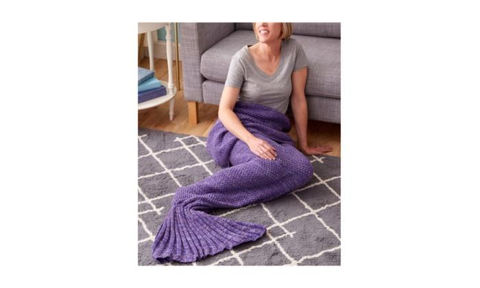 Super Soft and Comfy Design Model Adult Mermaid Blanket for Women's