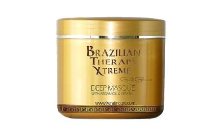 Keratin Cure Deep Hair Reparation Masque BTX Brazilian Therapy 32 oz 3d7fc809-a3ea-4865-91d5-6c5888e4c2cc