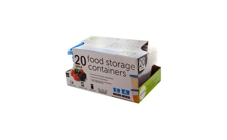 Handy Helpers Food Storage Containers Set - Pack Of 4 52f636d8-5767-465a-ad07-0bdd1e140709