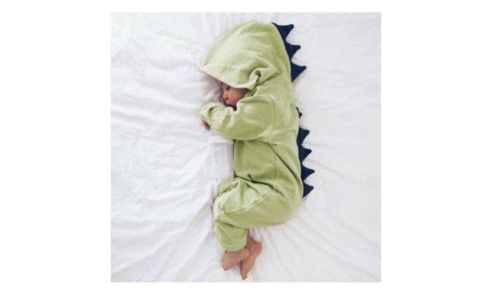 3fdd16e3b Adorable hooded dinosaur baby onesie. Great baby shower gift idea ...