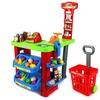 VT My Super Market Playset w/ Cash Register, Scanner, Cart, Toy Food/Money