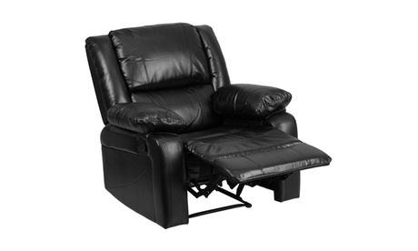 Harmony Series Black Leather Recliner 726831bb-9aba-41b9-a48e-9368f4b95a44