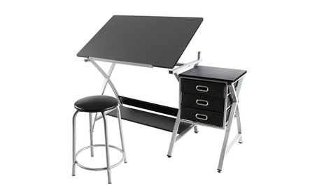 Adjustable Drafting Table Drawing Station Desk Board Storage Drawers f0122be7-cda4-44c3-9b95-0a4decfa8afe