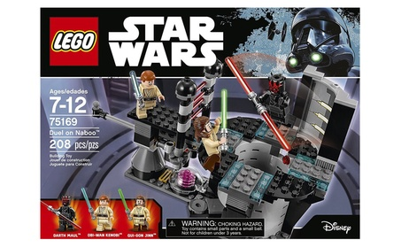 LEGO Star Wars Duel On Naboo 75169 Building Kit (208 Pieces) 774c09f3-1973-474a-aff9-71fe51b0403e
