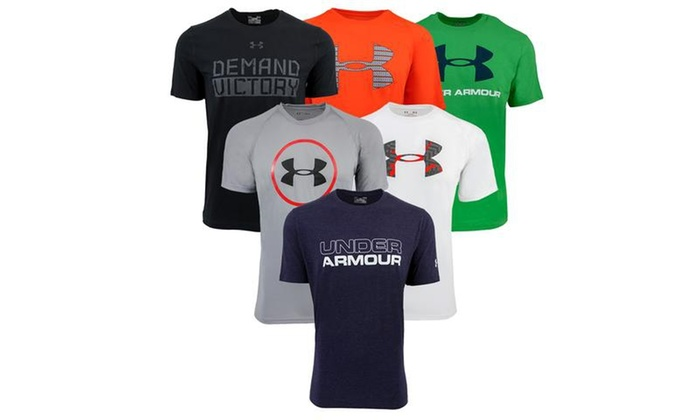 0af158a0 Up To 51% Off on Under Armour Men's T-Shirt Cy... | Groupon Goods