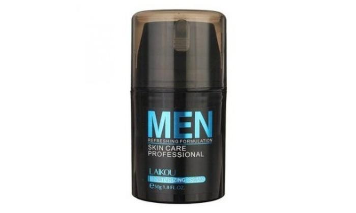 Men Face Cream Refreshing Formulation Anti-Age Oil Skin Moisturizer