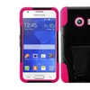 Insten Hpink Hybrid Case Kickstand For Samsung Galaxy Ace Style S765c