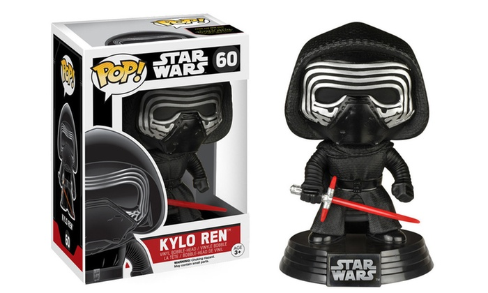 funko pop star wars episode vii vinyl figures set 6 piece groupon. Black Bedroom Furniture Sets. Home Design Ideas