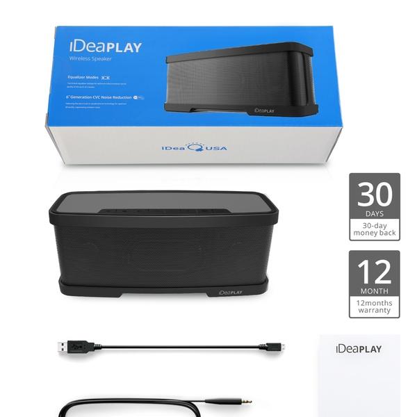 iDea 20W Portable Waterproof Wireless Bluetooth Speaker
