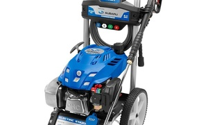 PowerStroke 3,100-PSI 2.4-GPM Subaru Gas Pressure Washer, Refurbished