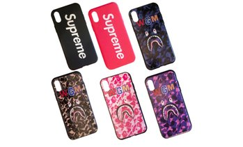 Supreme Bape WGM iPhone Case for iPhone XS X 6 6s 7 8 Plus