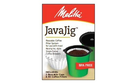 Frontier Natural Products 227324 Javajig Reusable Coffee Filter System 4b321741-59d6-4137-80d3-901088ead780