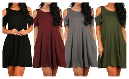 New Women Dresses Elegant Short Sleeve Summer Casual Mini Beach Dress 7629ef25-6a03-4d14-9429-f123bf50a9ea