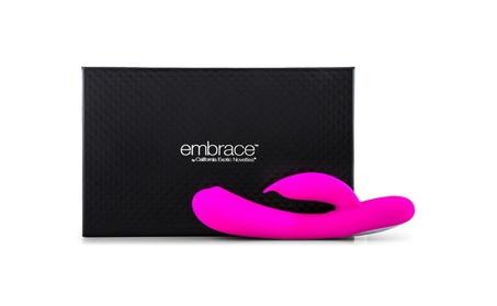 Embrace Massaging Tickler - Pink 59863c28-388a-4ffe-8ca5-ee09a21606d3