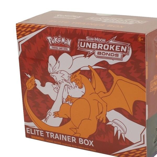 NEW Pokemon Sun /& Moon Unbroken Bonds Elite Trainer Box