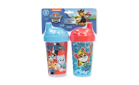 Paw Patrol 2-Pack Sipper Cups Red Multi One Size 6b2712c5-5e91-426a-9a3d-ff40553db69b