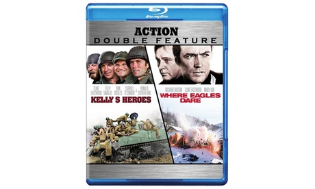 Kelly's Heroes / Where Eagles Dare (BD) (DBFE) 468e8b92-5c30-4c2f-875a-c896da6b8da6
