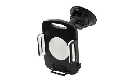 Tablet Adjustable Suction Cup Windshield Holder Mount Black 16043631-7c93-47b4-b454-5057f43d5341