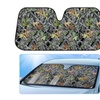 Camo Auto Windshield Sun Shade for Car SUV Truck - Forest Camouflage